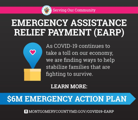 Covid 19 Emergency Assistance Relief Payment Earp Infomontgomery